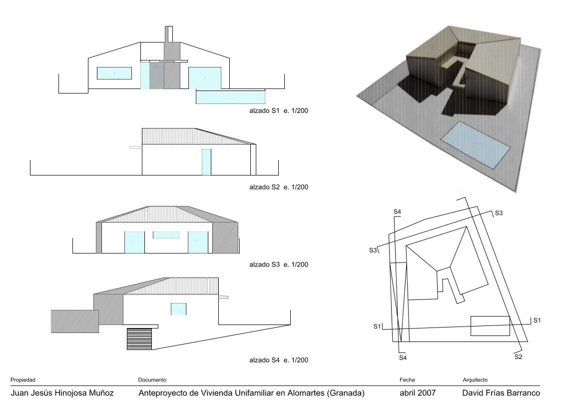 Anteproyecto casa en Alomartes 02