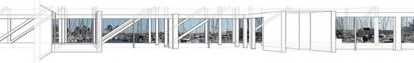 5- Club Nautic Vilanova - perspectiva interior club